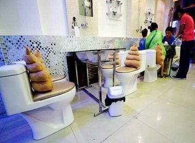 Thiết kế gây sốc của nhà hàng tại tỉnh Thái Nguyên, Trung Quốc.