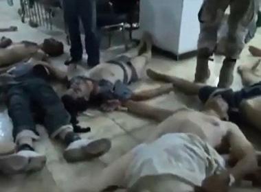 Hình ảnh trong video về vụ tấn công hóa học ở Syria do chính quyền Obama tung ra.