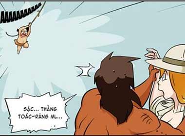 Tranh hài 18+(P128): Điều khó nói của Tarzan