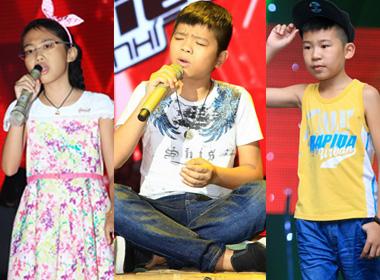 3 thí sinh xuất sắc nhất Giọng hát Việt nhí 2013