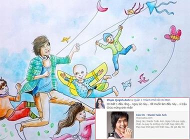 Sao Việt và fan gửi lời chúc mừng sinh nhật tới Wanbi Tuấn Anh