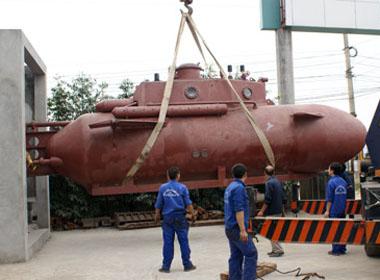 Thử nghiệm tàu ngầm 'made in Việt Nam': Kín nước, có thể lặn, nổi