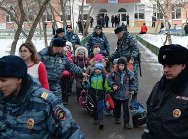 Hai người chết trong vụ xả súng tại trường học ở Moscow
