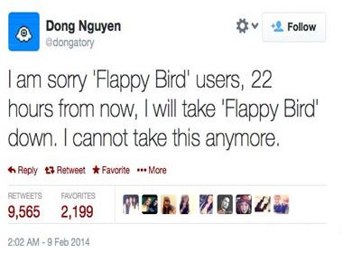Vì sao Nguyễn Hà Đông gỡ bỏ Game Flappy Bird?