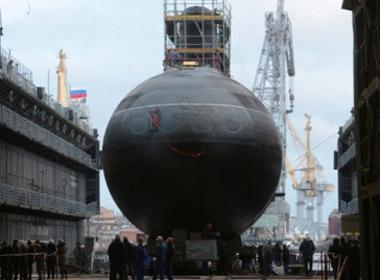 Tàu ngầm TP. Hồ Chí Minh tại nhà máy đóng tàu Admiralty