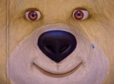 Gấu Sochi rơi nước mắt khi thổi tắt ngọn lửa Olympic Sochi