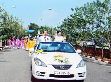 Hình ảnh chưa từng công bố về đám cưới 'khủng' của đại gia Lê Ân