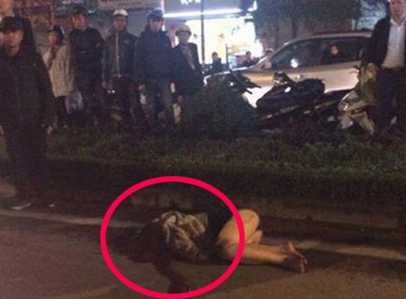 Nữ sinh viên bị xe đâm ở khu vực Xã Đàn
