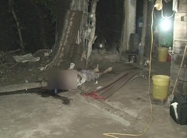 Bà Beng được phát hiện chết bên vũng máu, bàn tay trái và ngón trỏ tay phải bị chặt