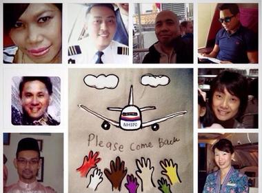 Hàng triệu cư dân mạng cầu nguyện cho MH370