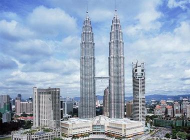 Tháp đôi Petronas của Malaysia
