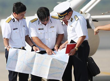 Phỏng vấn nóng Thứ trưởng GTVT từ vùng máy bay mất tích