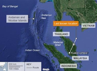 Giả thiết MH370 bị tấn công theo kịch bản 11/9?