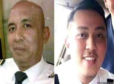Hai phi công của máy bay MH370