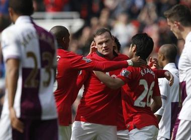 M.U 4-1 Aston Villa: Sức bật thế chân tường