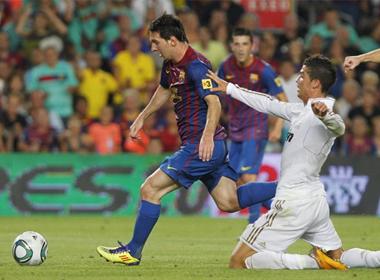 Giá trị thị trường của Messi cao gấp 5 lần Ronaldo