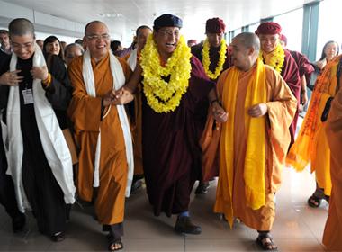 Pháp Vương Gyalwang Drukpa rạng rỡ tới Việt Nam