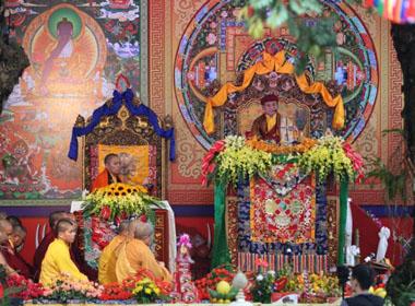 Đức Pháp Vương Gyalwang Drukpa giảng pháp tại Hà Nội