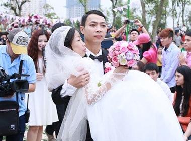 Đám cưới cổ tích của anh Vượng và chị Loan