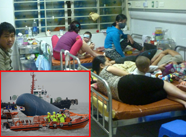 NÓNG 24h: Hơn 7000 ca mắc sởi trên cả nước; 9 người chết trong vụ chìm tàu