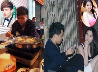 Sao Việt bình dị đi ăn đêm