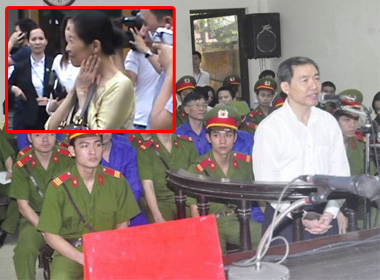 Dương Chí Dũng tại phiên tòa phúc thẩm