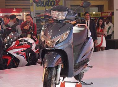 'Phát thèm' với xe tay ga Honda giá 930 USD vừa ra mắt