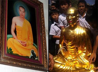 Dân tố nhà sư phá giới đâm tượng Phật, mạt sát người cúng dường