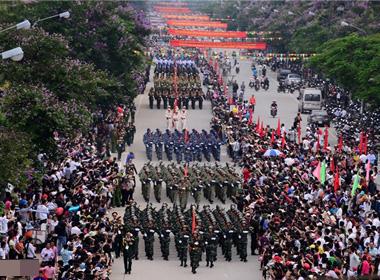 Lễ diễu binh kỷ niệm 60 năm chiến thắng Điện Biên Phủ