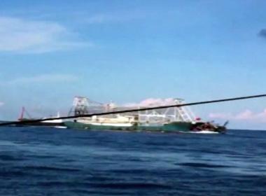 Tình hình biển Đông: Công bố clip tàu Trung Quốc khổng lồ đâm chìm tàu cá Việt Nam
