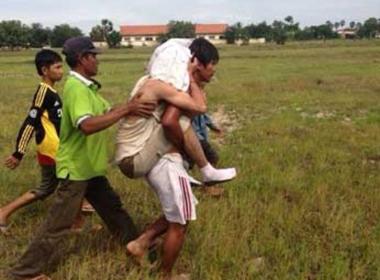 Rơi trực thăng quân sự Campuchia, 5 người thiệt mạng