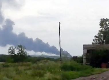Máy bay Malaysia chở 295 người gặp nạn ở Ukraine gần biên giới Nga