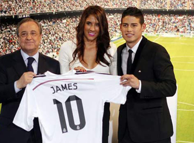 James Rodriguez 'thổi tung' Real