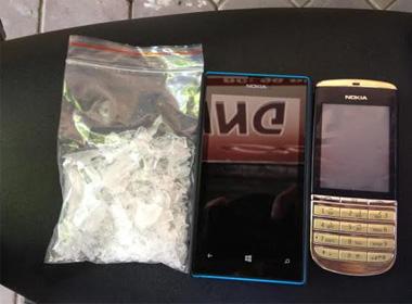 'Bộ đội cứng' mang ma túy, gây sự với cảnh sát 141