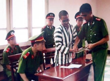 Hình ảnh tử tù Nguyễn Đức Nghĩa trước giờ thi hành án