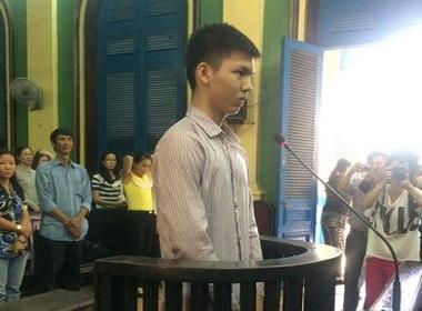 Bị cáo Nguyễn Phan Anh tại phiên xét xử