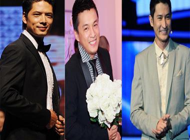 Những chàng trai má lúm đồng tiền của showbiz Việt