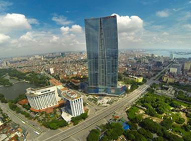 Tòa tháp cao thứ hai Việt Nam trước dịp khánh thành