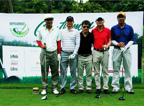 Khai mạc Giải Gentlemen's Golf Tournament lần 8 tại sân Golf Thủ Đức