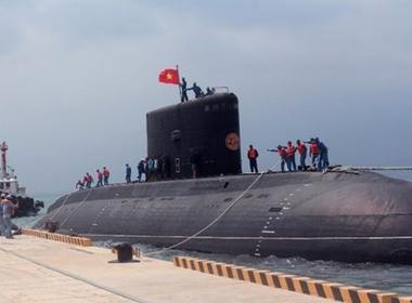 Tàu ngầm Kilo thứ 3 của Việt Nam sắp về nước