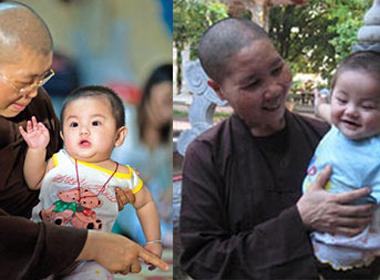 Đã tìm thấy 11 đứa trẻ biến mất ở chùa Bồ Đề