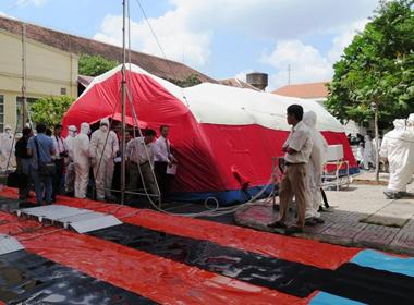 Bên trong nhà cách ly 'bệnh nhân Ebola' ở Sài Gòn