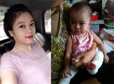 Doanh nhân xinh đẹp nhận nuôi bé mắc bệnh hiểm nghèo ở chùa Bồ Đề