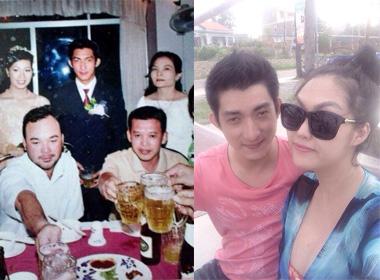 Bồ trẻ Phi Thanh Vân lộ ảnh cưới trong quá khứ