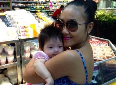 Đoan Trang: 'Con gái là phiên bản của chồng'