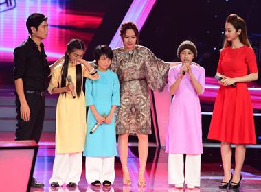 Giọng hát Việt nhí: Huyền Trân, Chí Công đi tiếp vào vòng 'Liveshow'