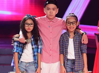 Giọng hát Việt nhí: Hồng Nhung, Đức Anh và Như Ý khiến khán giả xúc động với ca khúc 'Cha'