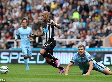 Newcastle – Man City: Chiến thắng nhọc nhằn