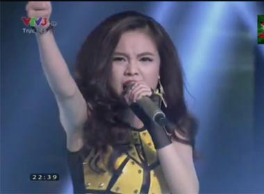 Nhân tố bí ẩn vòng 2014 Liveshow 3: Giang Hồng Ngọc-Oh la la