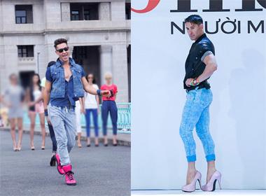 Vietnam's next top model 2014:  Adam Williams tiếp tục 'ngồi ghế nóng'